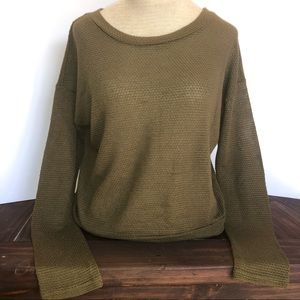 ✨Olive Green Knit Top